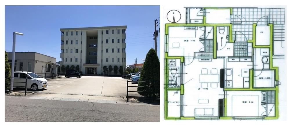 トリミオン駅南 写真 平面図 403